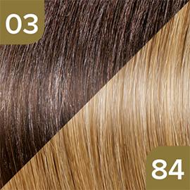 Kleuren Great Lengths Flowstrengen Naturel Bruin Blond