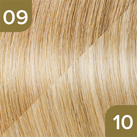 Kleuren Great Lengths Flowstrengen Naturel Lichtblond