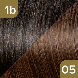 Kleuren Great Lengths Flowstrengen Naturel Lichtbruin