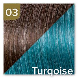 Kleuren Great Lengths Flowstrengen Turqoise