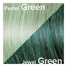 Kleuren Great Lengths Flowstrengen Jewel Green