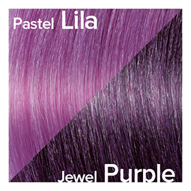 Kleuren Great Lengths Flowstrengen Jewel Purple