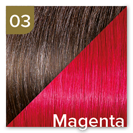 Kleuren Great Lengths Flowstrengen Magenta