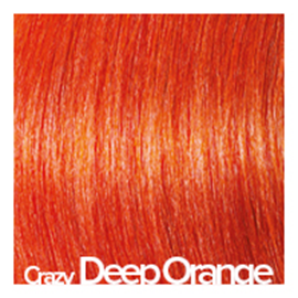 Kleuren Great Lengths Crazy diep oranje