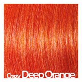 Kleuren Great Lengths Crazy diep oranje