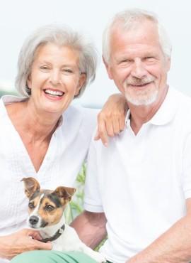 Ook senioren kunnen bij Fedine Haarmode terecht