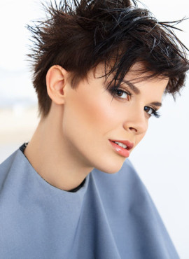 Haarmode voor vrouwen met kort haar